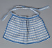 Doll's Clothing, Blue Apron; Hall, May; 1940-1950; WY.2004.79