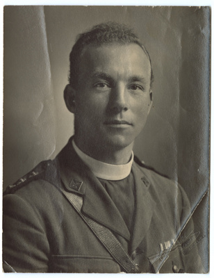 Photograph, Vicar Geo A Lawson; Campbell's Studios; 1914-1918; WY.1997.12.10