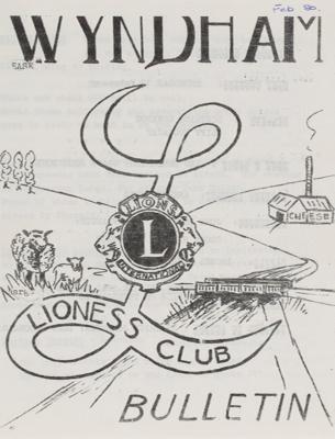 Archives, Wyndham Lioness Club ; 1966-1988; WY.2015.7