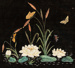 Wall Hanging, Velvet Painting; Unknown maker; 1880-1890; WY.0000.904