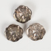 Buttons, Silver with Cotter Pins; James & Richard Griffen; 1920-1926; WY.2000.12.12