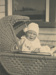 Photograph, Baby in a Pram ; Unknown photographer; Unknown; WY.0000.87