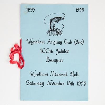 Archives, Wyndham Angling Club; 1925-1995; WY.2000.30