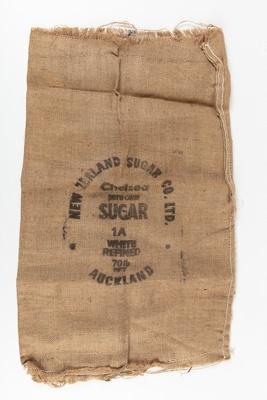 Bag, New Zealand Sugar Company; New Zealand Sugar Company; 1920-1930; WY.1990.177.1