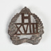 Badge, Military 18th Reinforcements; Unknown manufacturer; 1914-1918; WY.2000.12.4.7