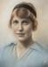Portrait, Kate Leckie nee McEwan; Unknown photographer; 1915; WY.1990.208.2