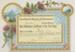 Certificate, Good Attendance; Unknown printer; 20.12.1905; WY.2006.10.1