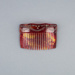 Hair Comb, faux tortoiseshell with diamantes  ; Unknown maker; 1940-1950; WY.1989.400.1