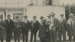 Photograph, Gentlemen at the Birdcage, Wyndham Racecourse; Unknown photographer; 1940-1950; WY.1996.21