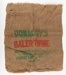 Sack, Donaghy's Baling Twine; Donaghy's Rope & Twine Co Ltd; 1920-1930; WY.0000.489
