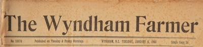 The Wyndham Farmer, 1948 editions; 1948; WY.0000.595