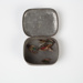 Fishing Flies, Assorted in Tin; Unknown maker; 1930-1940; WY.2000.12.16
