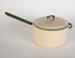 Saucepan, Cream Enamel Saucepan; Ernst Stevens Ltd; 1930-1970; WY.0000.610