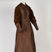 Dress, Bronze Taffeta with Velvet Sleeves; Unknown maker; 1880-1890; WY.2009.09.41