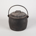 Lidded Pot, Black Cast Iron; Kenrick, Archibald & Sons; 1890-1920; WY.0000.697