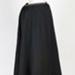 Skirt, Black Wool Bombazine; Unknown maker; 1890-1900; WY.1996.46.2