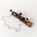 Morse Code Key, Frank Gorman; Unknown manufacturer; Unknown; WY.1989.524.3