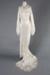 Wedding Dress, Silk Daisy Motif; Unknown maker; 1930-1940; WY.0000.880