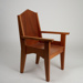 Chair, Bishop's St Mary's; Unknown manufacturer; Unknown; WY.2007.29.5