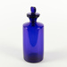 Bottle, Large Blue Medication; Unknown manufacturer; Unknown; WY.1996.59.48