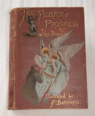 Book, 'The Pilgrim's Progress; John Bunyan (b.1628, d.1688), F. Barnard, S. Cowan & Co.; 1889; XHH.3474