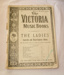 Sheet music, 'The Victoria Music Book'; Charles Sheard & Co.; XHH.774