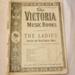 Sheet music, 'The Victoria Music Book'; Charles Sheard & Co.; XHH.774