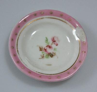 Miniature plate; XHH.2774.49.2