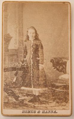 Photograph [Fanny Buckland]; Hemus & Hanna (estab. 1875, closed 1885); 1877; XHH.3076.15