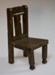 Miniature chair; XHH.2774.59.5