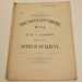 Sheet music, 'The distant shore'; William Gilbert (b.1836, d.1911), Arthur Sullivan (b.1842, d.1900), Chappell & Co. (estab. 1810); XHH.747