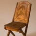 Miniature chair; XHH.2774.37.3