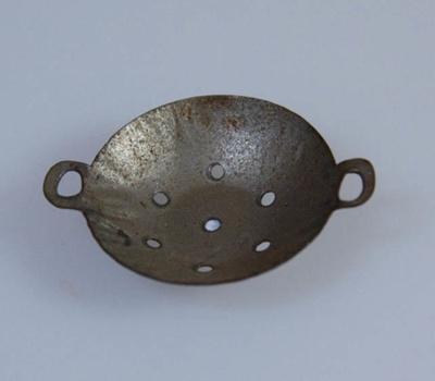 Miniature colander; XHH.2774.66.8