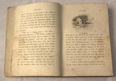 Book, 'Alice's Adventures in Wonderland'; Lewis Carroll (b.1832, d.1898), John Tenniel; 1881; XHH.2906