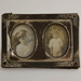 Miniature picture frame; XHH.2774.34