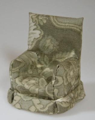 Miniature armchair; XHH.2774.56.3