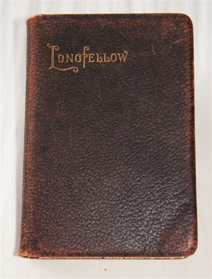 Book, 'The Poetical Works of Henry Wadsworth Longfellow'; Henry Wadsworth Longfellow (b.1807, d.1882); c. 1886; XHH.1315