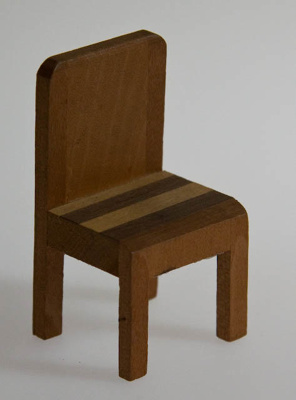 Miniature chair; XHH.2774.43