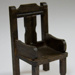Miniature carver chair; XHH.2774.59.3