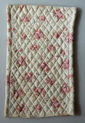 Miniature quilt; XHH.2774.26.2