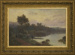 The Close of an Autumn Day - Waikato River; Mr Wright, Frank; 1906; L2001/2/4