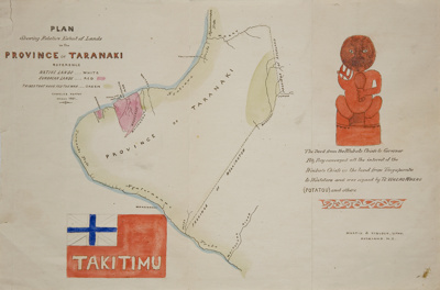 Map - Province of Takitimu; Mr Heaphy, Charles; 1861; L2007/24/14