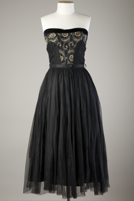 Cocktail Dress; 1950s; 1961/30/3