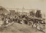Opening of the Gold Mine at Thames NZ; Unknown; Circa 1890-1910; L2010/26/3