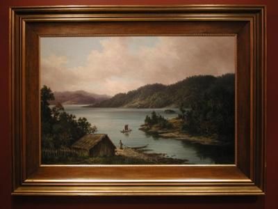 Lake Waikare; Mr Baker, William George; 1900; L2003/5/1