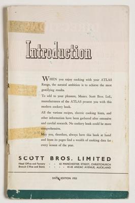 Atlas Electric Oven; Messrs. Scot Bros Ltd.; 1955; 2001/28/1