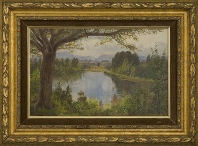 Lake Te Koutu, Cambridge; Mr Blomfield, Charles; Unknown; L2001/2/2