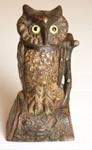 Owl Money Box; J & E Stevens Company; post 1880; 1981/1/1