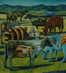 Our Cows; Deadman, Brent; 2003; L2003/8/2
