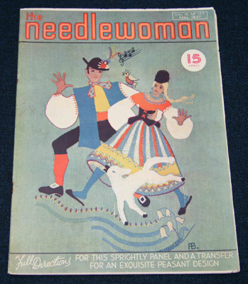 Magazine, 'The Needlewoman'; George Newman Ltd., McCorquodale & Company Ltd; May 1937; XKH.1836.6